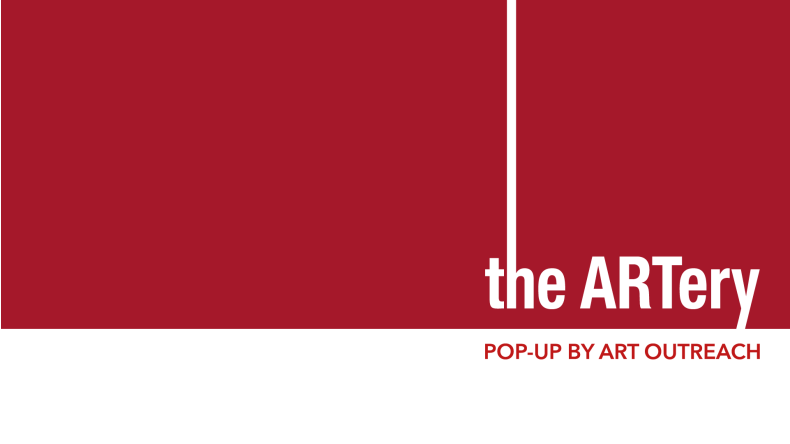 the ARTery Pop-Up by Art Outreach