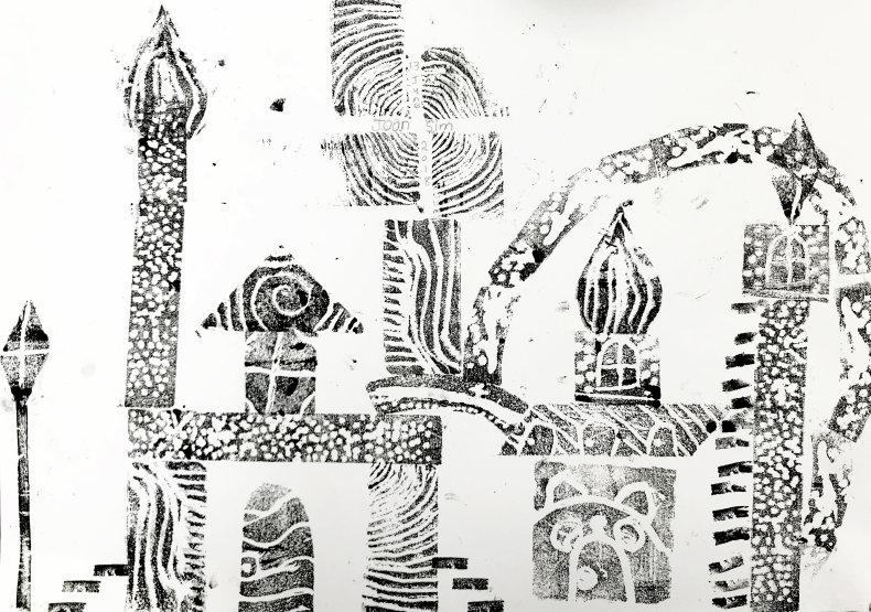 Future Cities – Printmaking for Kids