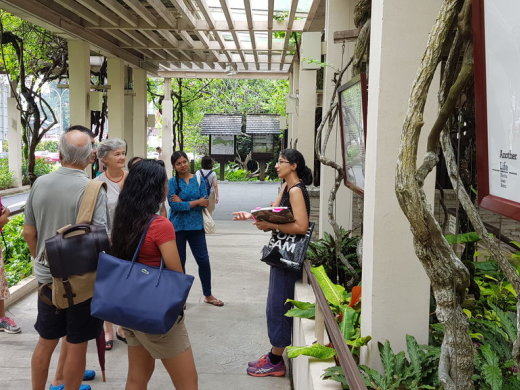 Artist Tour of Roadside Rojak, with Kavita Issar Batra
